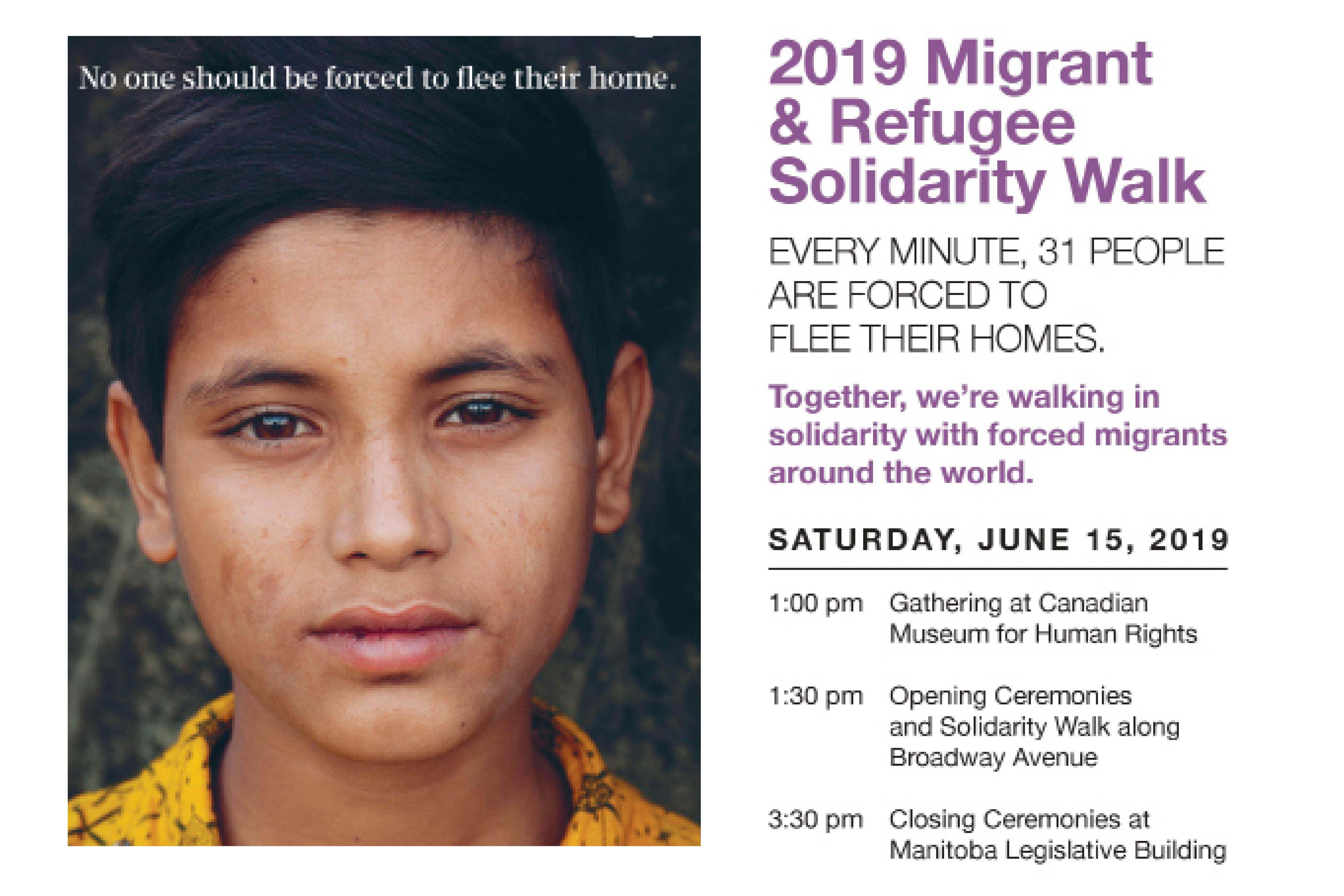 Migrant & Refugee Solidarity Walk